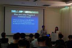 Prof. Ho presenting